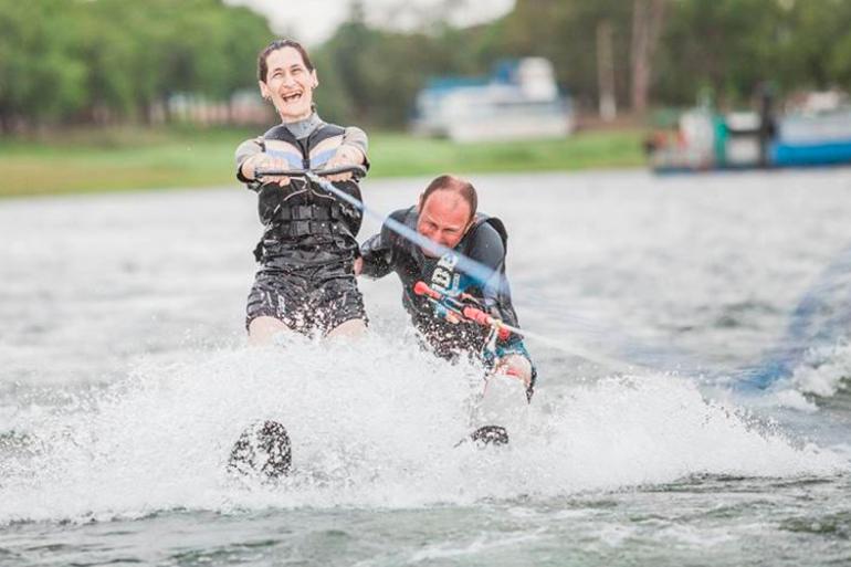 Deportes acuáticos adaptados